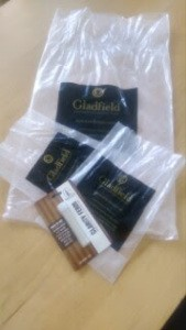 Gladfield malts and an enzyme derived from Aspergillus niger for our first gluten free and vegan beer