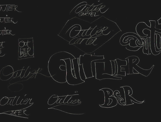 Designing the Outlier Cartel Logo