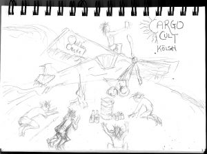 cargo cult rough sketch
