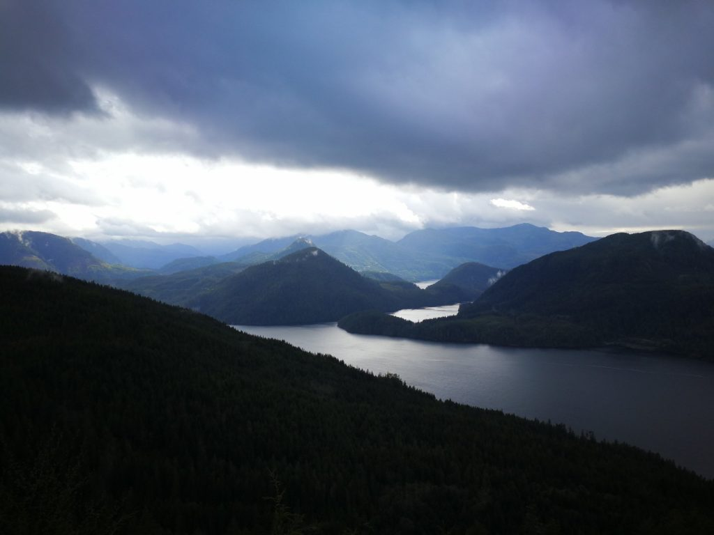 View of Nootka Island and Tahsis